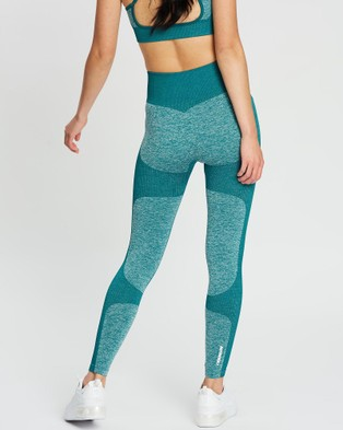 Doyoueven Impact Seamless Leggings - Full Tights (Forest Green)