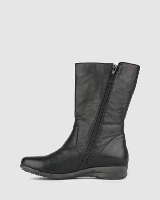 Airflex Caddie Leather Calf Boots - Boots (Black)