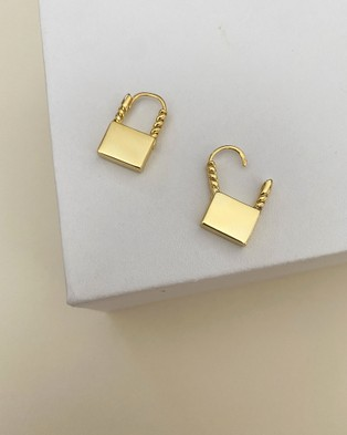 ALIX YANG - Carmen Earrings Jewellery (Gold)