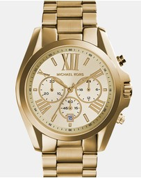 Michael Kors - Bradshaw Gold-Tone Chronograph Watch