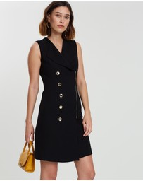 Karen Millen - Abstract Tailored Dress