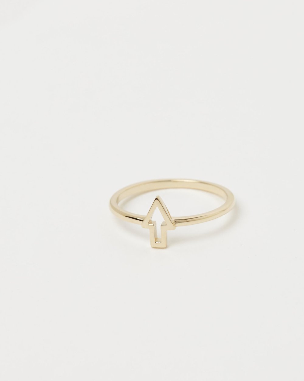 16341017d4a Superfine Runaway Arrow Ring by Karen Walker Online