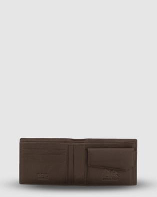 Cobb & Co Maxy RFID Safe Leather Wallet - Wallets (Brown)
