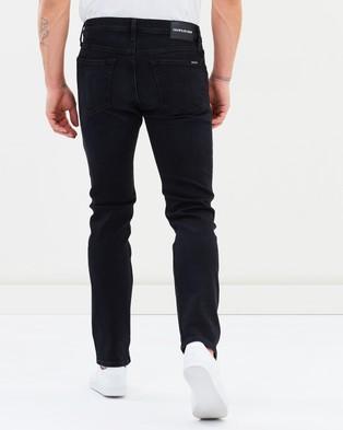 Calvin Klein Jeans Slim Fit Jeans - Slim (Burlington Wash Black)