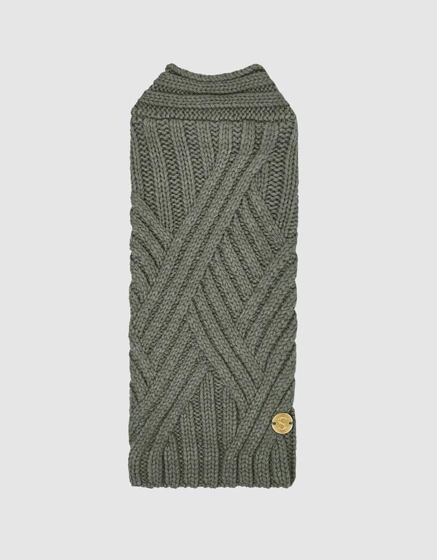 Life Weave Wool Dog Sweater
