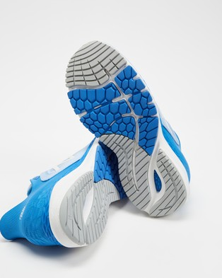 New Balance 860v11 B   Women's - Training (Blue & White)