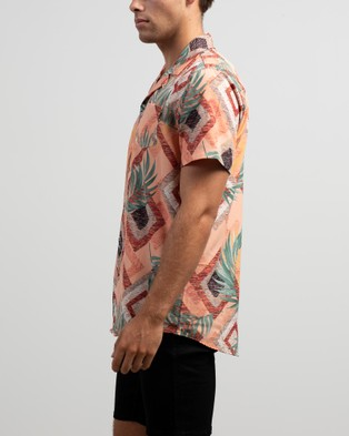 St Goliath Extract Short Sleeve Shirt - Casual shirts (Multi)