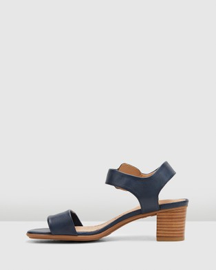 Hush Puppies Olivia - Sandals (Navy)