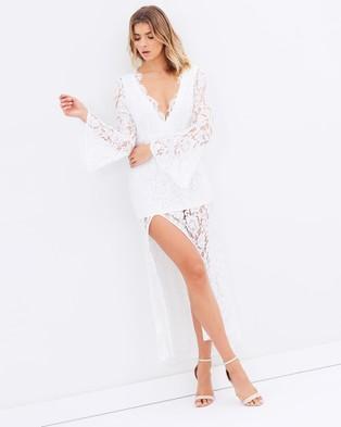 Lioness – The Boulevard Lace Maxi – Dresses (White)