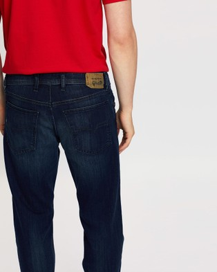 Diesel Waykee Straight Jeans - Jeans (Dark Blue)