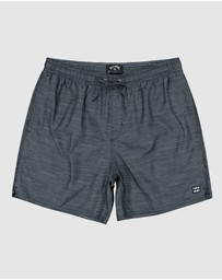 Billabong - Groms Sergio Layback Boardshorts