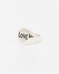 Heart of Bone - Love Signet Ring