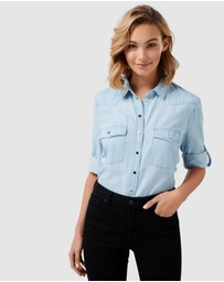 Forever New - Arielle Western Denim Shirt