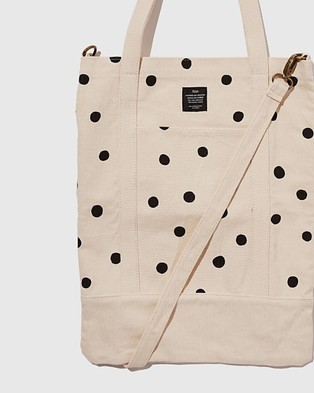 Typo Book Tote - Bags (Oversized Polka)