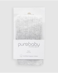 Purebaby - Rib Tights - Babies