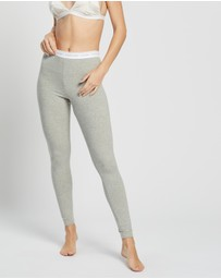 Calvin Klein - CK One Basic Lounge Jersey Leggings
