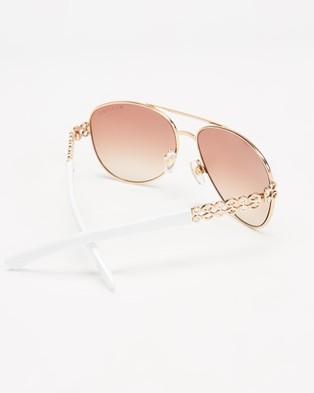Mestige Sunset Dreams with Swarovski?« Crystals - Sunglasses (Gold)