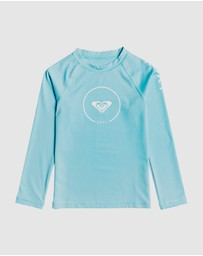 Roxy - Girls 2-7 Beach Classics Long Sleeve UPF 50 Rash Vest