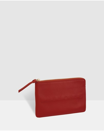 The Horse - Mini Zip Clutch