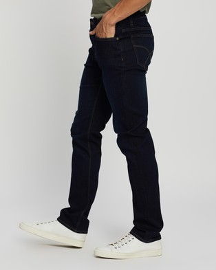 Riders by Lee R2 Low Rise Slim Straight Jeans - Clothing (Drainpipe Ink Blue)