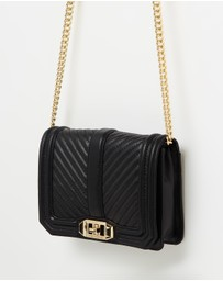 Chevron Love Cross-Body Bag