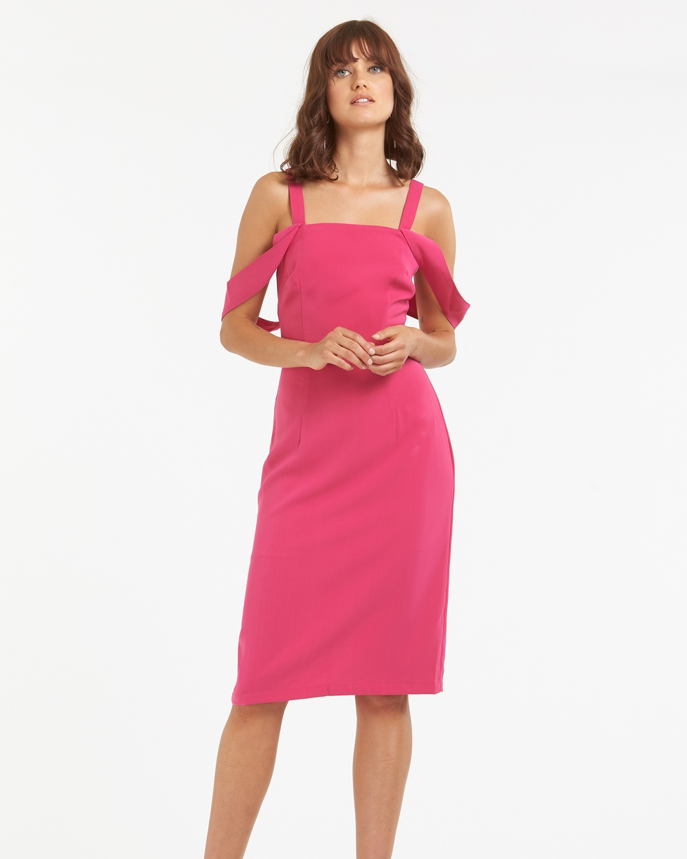 Amelius Cosmo Dress Dresses Fuschia Cosmo Dress