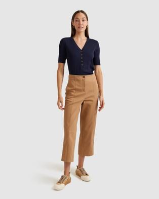Sportscraft - Remy Cotton Modal Tee - T-Shirts & Singlets (navy) Remy Cotton Modal Tee