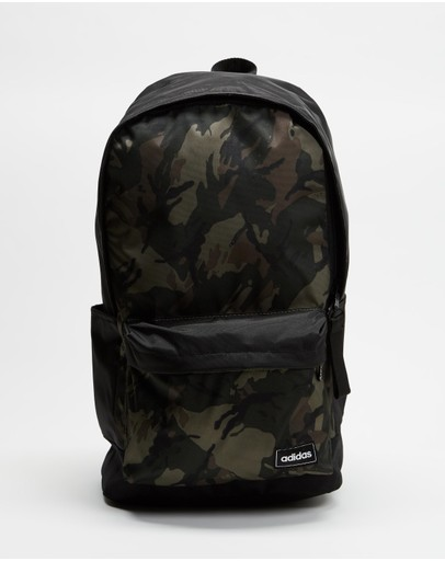 Adidas Performance Classic Camo Backpack Legacy Green Tech Emerald & Black