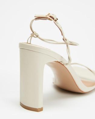 Alias Mae Camellia - Heels (Bone Leather)