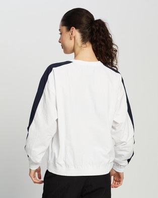 Champion EU Rochester Crinkle Crew - Sweats (White)