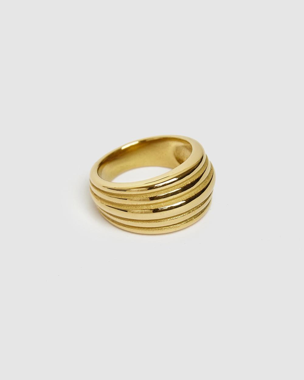 Brie Leon Rafael Ring Jewellery Gold