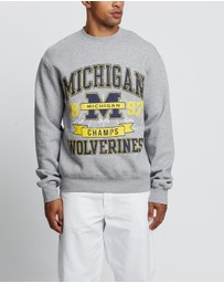 NCAA - Vintage Michigan Wolverines 90's Champs Crew