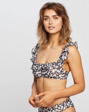 Peony Vacation Crop - Bikini Tops (Primrose)