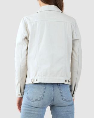 Amelius - Alliance Drill Denim Jacket - Denim jacket (Grey) Alliance Drill Denim Jacket