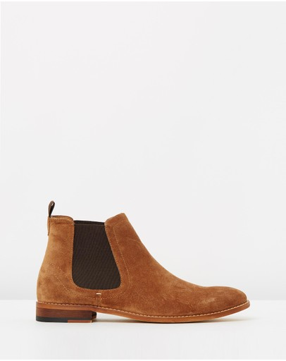 Double Oak Mills - Gordon Leather Gusset Boots