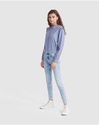 Superdry - Mid Rise Skinny Jeans
