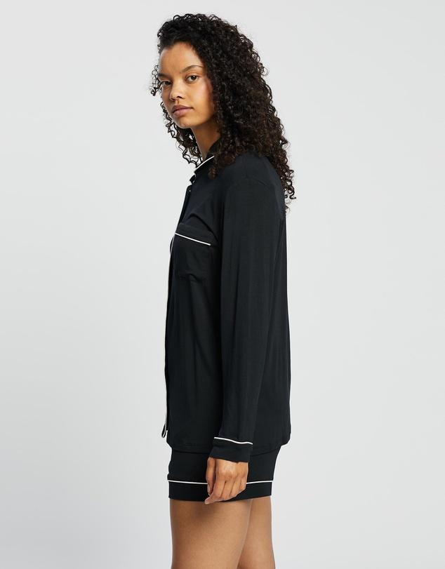 Women Kate Long Sleeve Top & Boxer PJ Set
