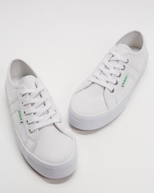 Human Premium Lift Canvas Sneakers - Sneakers (White)