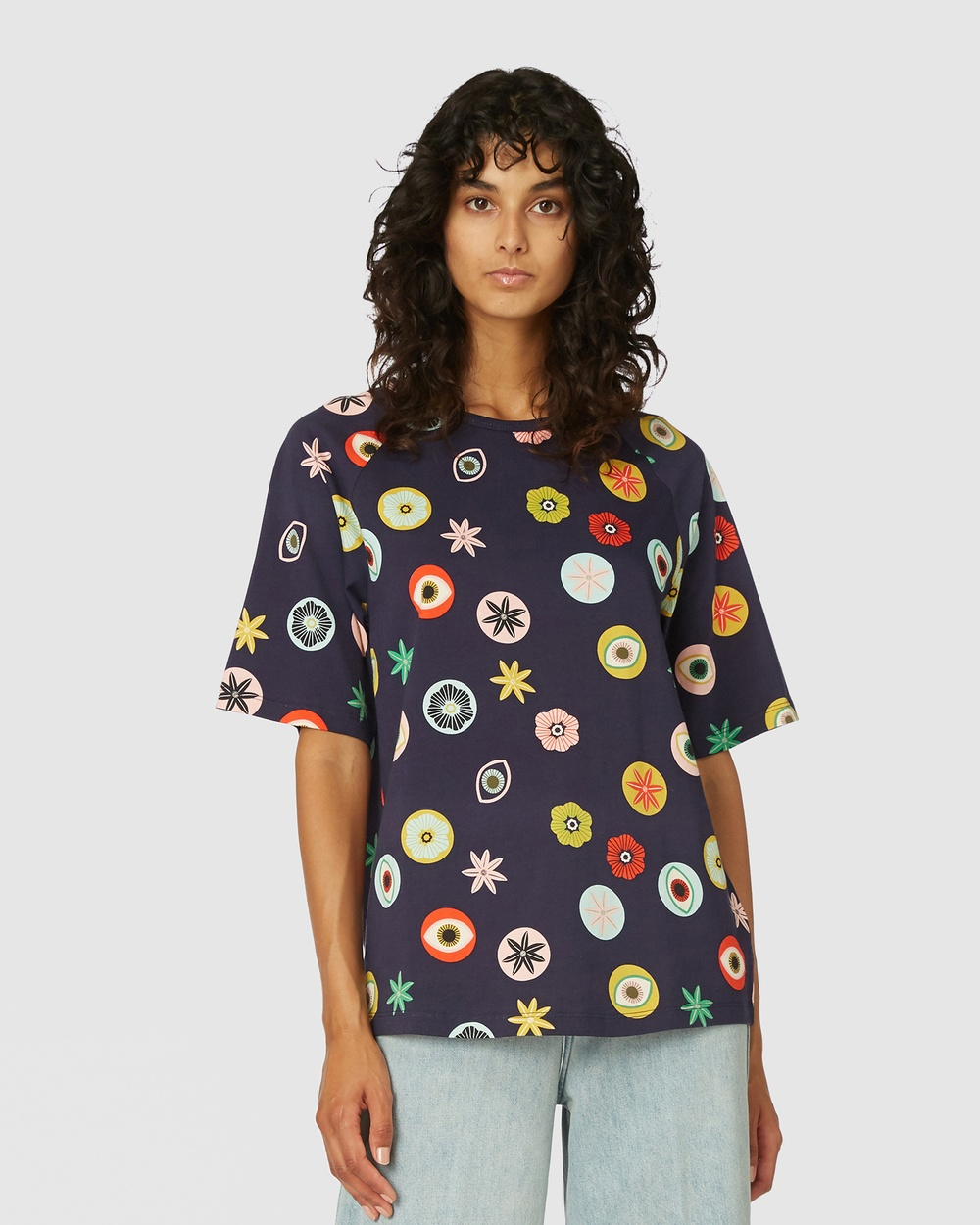 Gorman - Medallion Tee - T-Shirts & Singlets (Multi) Medallion Tee