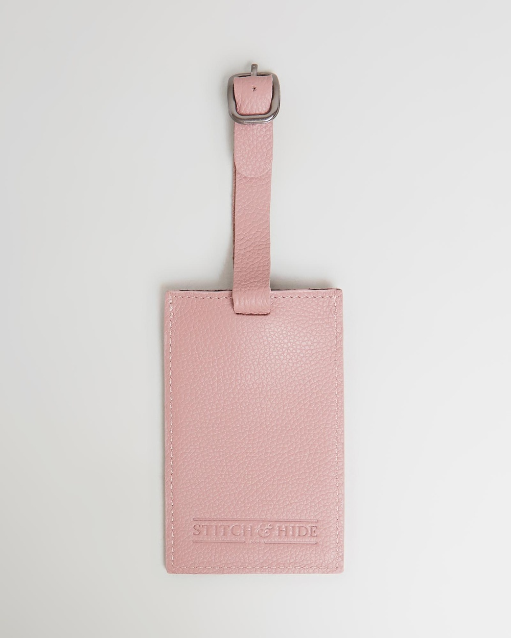 Stitch & Hide Miles Luggage Tag Travel and Dusty Rose