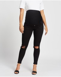 TOPSHOP Maternity - Over The Bump Jamie Jeans