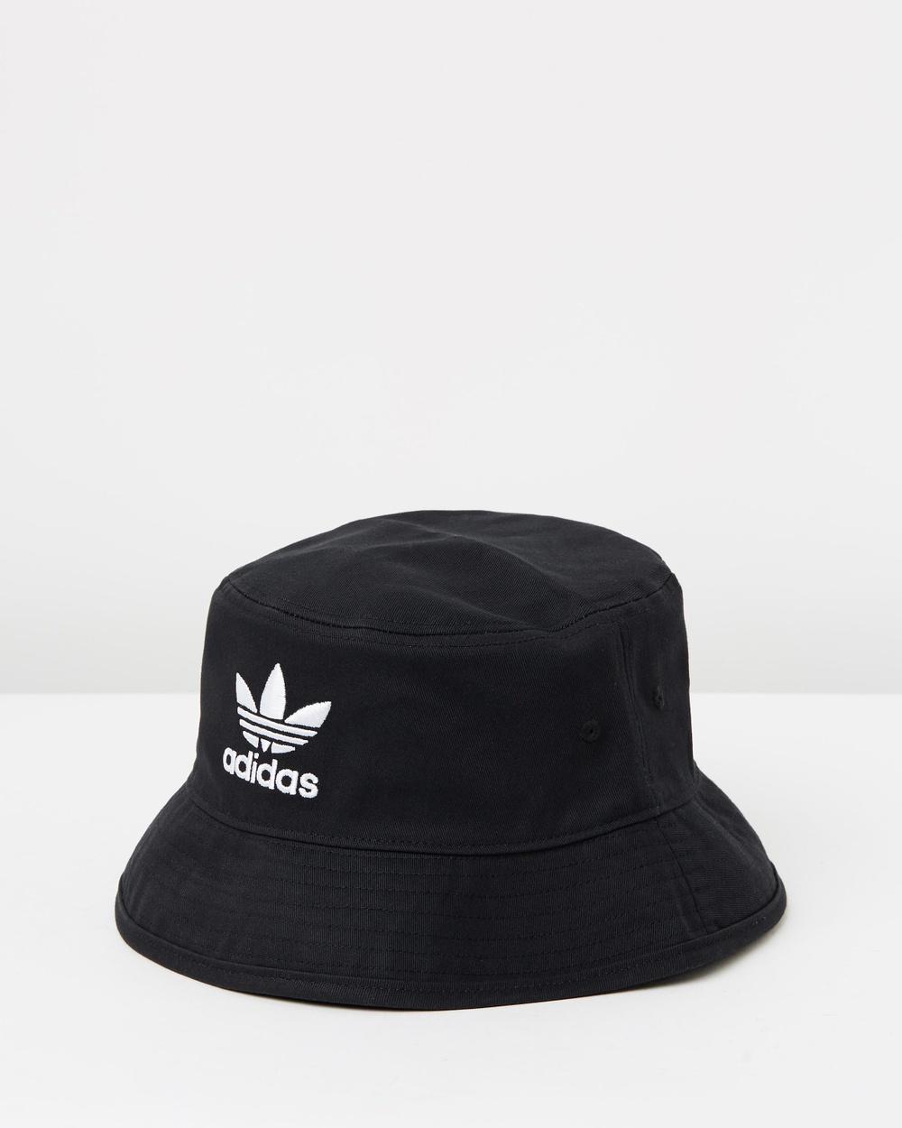 adidas Originals Trefoil Adicolour Bucket Hat Hats Black