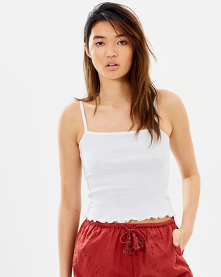 All About Eve – Nellie Cami – Cropped tops (White)