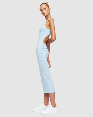 Lioness The Clare Dress - Bodycon Dresses (Blue)