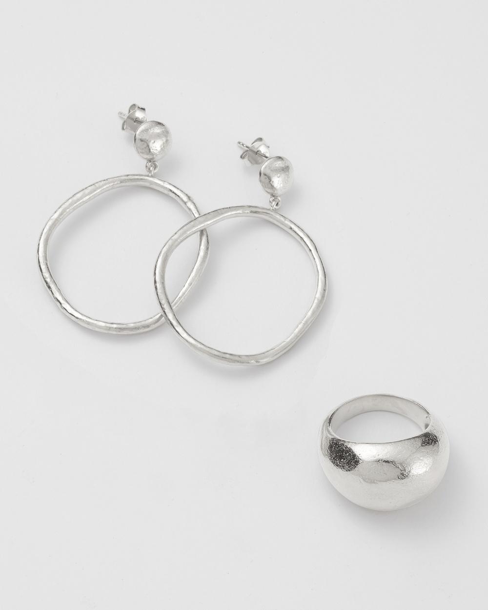 Kirstin Ash Lisa Danielle's Golden Light Layers Jewellery Silver
