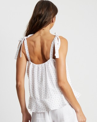 The Fated Jessi Blouse - Tops (Tan Fleck)