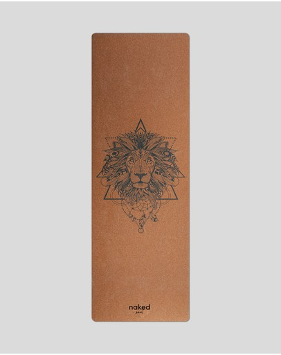 Naked Soul - Lion Head Cork Yoga Mat