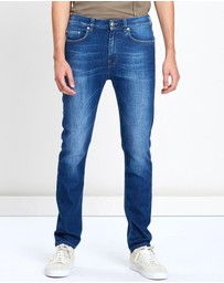 CERRUTI 1881 - Slim Acid Wash Jeans