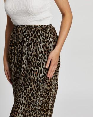 M.N.G Leo Skirt - Pleated skirts (Black)