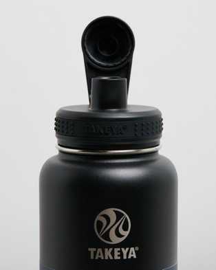 TAKEYA 32oz Insulated Stainless Steel Bottle - Water Bottles (Onyx)